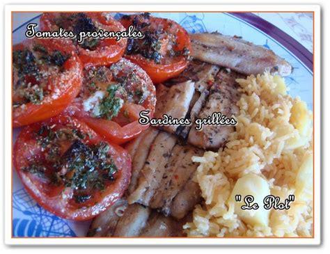 cuisiner des filets de sardines fraiches filets de sardines grillés et leurs accompagnements à voir