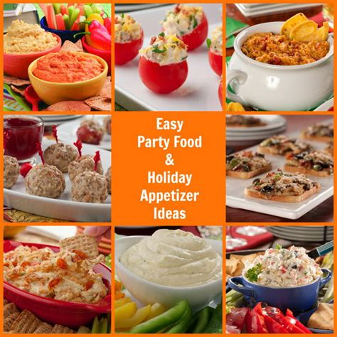 easy christmas party food 16 easy food and appetizer ideas mrfood