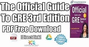 Official Gre Super Power Pack Pdf Free Download