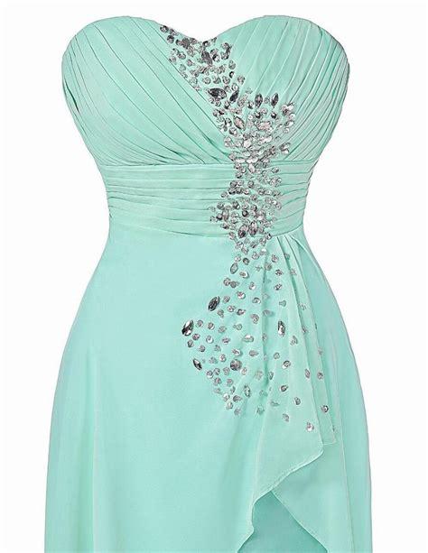 grace karin elegant cheap pale turquoise high  prom