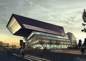 Zaha Hadid Architektur : wirtschaftsuni von zaha hadid schr gen f r wien architektur und architekten news ~ Frokenaadalensverden.com Haus und Dekorationen