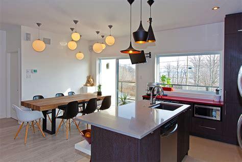 luminaires cuisine cuisine eclairage au dessus d un ilot de cuisine