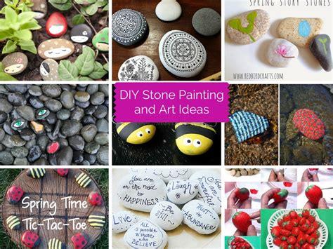 diy stone painting  art ideas part