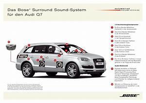 Audi Bose Sound System : moderner sound im auto das bose prinzip ~ Kayakingforconservation.com Haus und Dekorationen