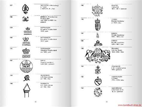 Porzellanmarken Stempel übersicht by 38 Best Images About Porzellan On Dishes