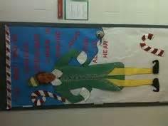 buddy the elf classroom door door decor pinterest
