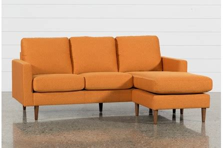 David Grey Reversible Sofa Chaise  Living Spaces