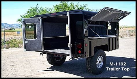 military trailer cer 1000 images about 倫 minimal compact off road trailers