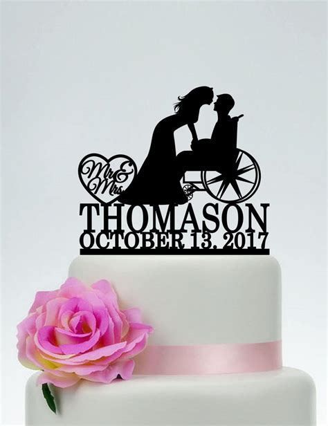 wheelchair wedding cake toppermr   cake topper