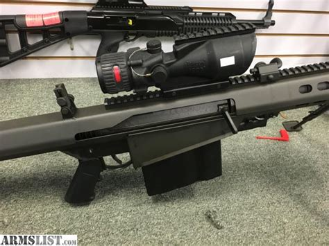 Used 50 Bmg For Sale by Armslist For Sale Barrett M82 50 Bmg W Trijicon