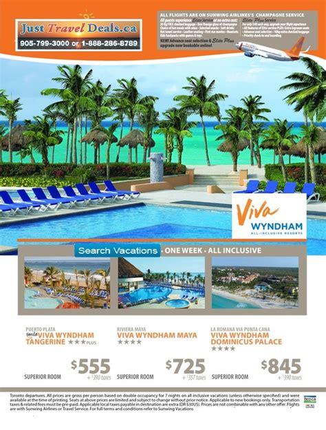 transat vacations last minute deals viva wyndham viva wyndham tangerine viva wyndham viva wyndham dominicus palace viva