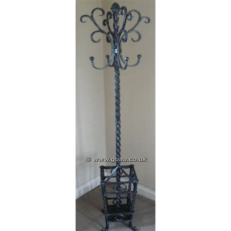 coat rack with umbrella stand wrought iron coat umbrella stand garden ornaments
