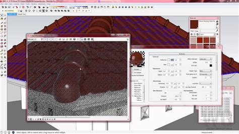 Vray Sketchup Bahasa Indonesia Membuat Material