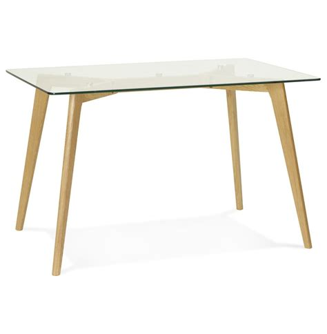 table bureau en verre bureau droit bugy en verre table design 120x80 cm