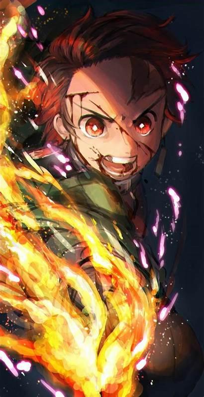 Anime Hp Terbaru Untuk Tanjiro Demon Gambar