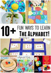 10 fun ways to learn the alphabet With games to help learn letters