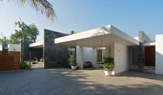 Simple Architectural Designs For Bungalows Ideas by Minimalist Bungalow In India Idesignarch Interior