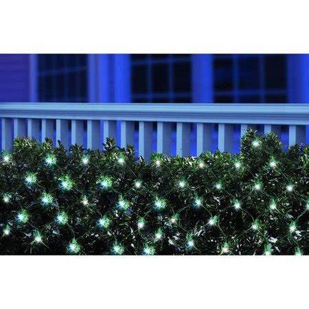Led Lights At Walmart by Time Led Net Lights Cool White 150