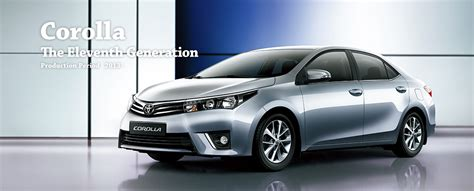 toyota global site corolla the eleventh generation