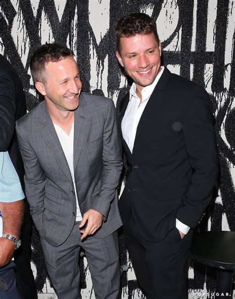 Ryan Phillippe And Breckin Meyer Having Dinner Together Popsugar Celebrity
