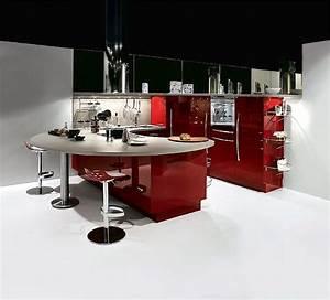 Küche In Rot : u k che rot hochglanzlack ~ Frokenaadalensverden.com Haus und Dekorationen