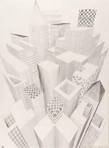 Perspektive Zeichnen Raum : drei fluchtpunkte hochh user unterricht perspektive pinterest fluchtpunkt kunst und ~ Orissabook.com Haus und Dekorationen