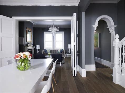 dark gray crown molding design ideas