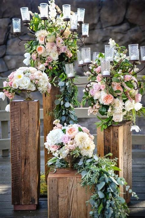 Church Flower Decorations Wedding by Best 25 Wedding Pillars Ideas On Pinterest Wedding