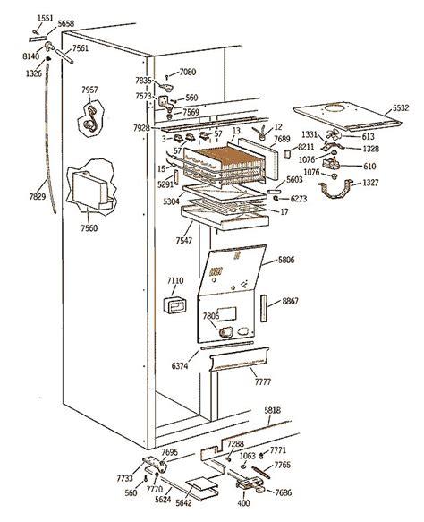 ge monogram refrigerator side  side built  mod zisbdyb water  leaking  freezer