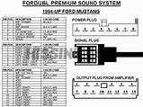 2002 Ford Mustang Mach Stereo Wiring Diagram