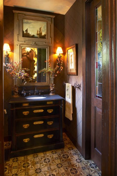 Dining Room Light Fixtures Home Depot by Powder Room Vanities Powder Room Traditional With Bathroom