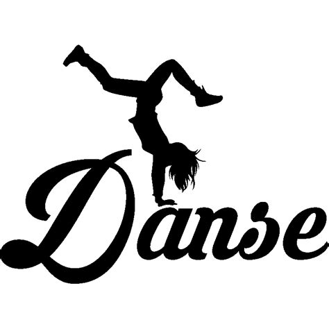 bureau de change la d ense sticker danse