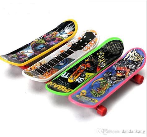 Kids Mini Tech Deck Finger Skateboard Plastic Handboard
