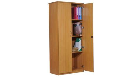 bureau dans une armoire organisation armoire de bureau bois