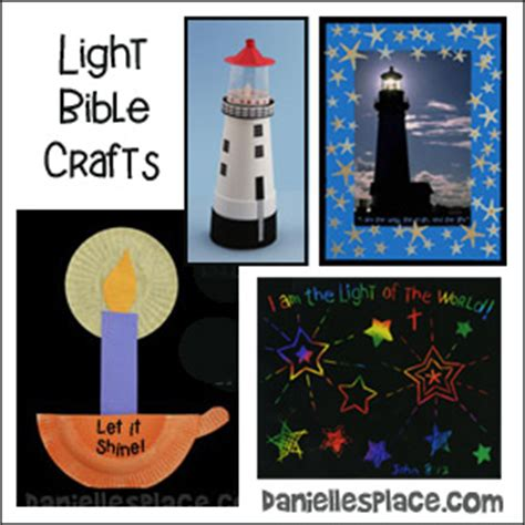 sunday school crafts for all ages 491 | light bible crafts