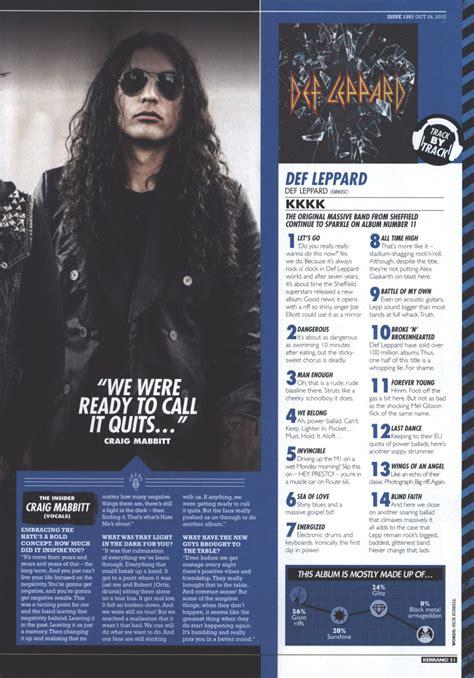 album track  track review  kerrang magazine def