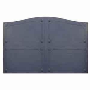 Modele De Portail Coulissant : portails en fer plein battants et coulissants contemporains ~ Premium-room.com Idées de Décoration