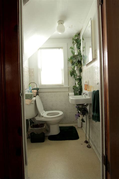 abm studio the tiny bathroom before a beautiful mess