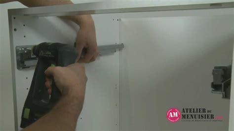 tiroir de cuisine coulissant comment monter un tiroir coulissant de cuisine