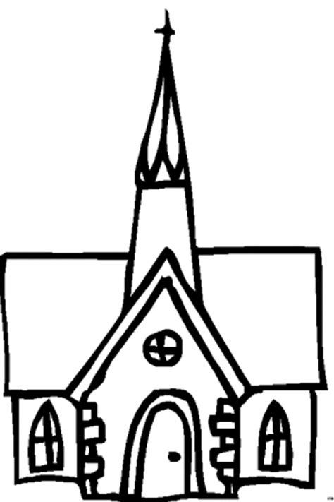 kirche schematisch  ausmalbild malvorlage religion