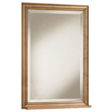 menards framed bathroom mirrors pace plantation series 24 quot framed mirror at menards 174