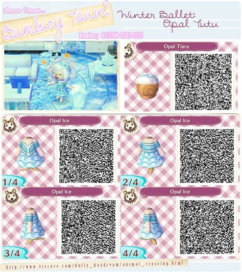 Pin by Emi Breyfishness on Animal Crossing New Leaf QR Code Clothes | Pinterest | Ballet and Winter