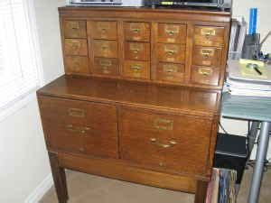 Vintage Library Card File Cabinet by 17 Best Images About Card Catalog For My Tiny