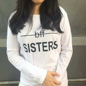 Kaos Bff jual kaos fashion t shirt lengan panjang bff