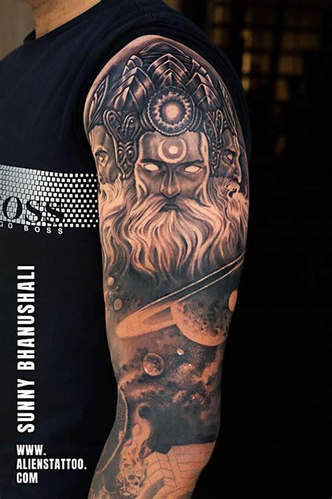 lord brahma tattoo aliens tattoo   tattoo