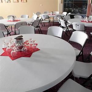 Table 12 Personnes : table pliante ronde dia 183cm 10 12 personnes table pliante table pliante poly thyl ne ~ Teatrodelosmanantiales.com Idées de Décoration