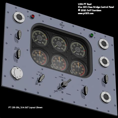 Boat Control Panel by Elco 80 Foot Pt Boat 103 Class Control Panel Dimensions