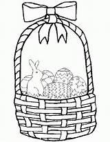Coloring Basket Easter Empty Bingo Dauber Popular Coloringhome Comments sketch template