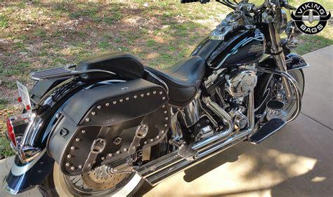 Harley Softail Deluxe Flstn Motorcycle Saddlebags Pinnacle