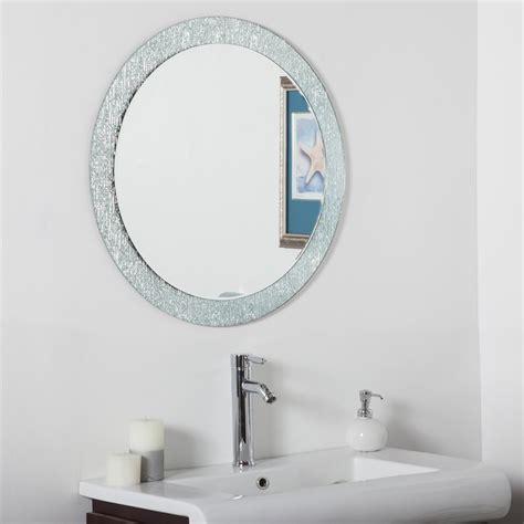 Bathroom Vanity Mirrors Canada by Decor Ssm5005 3 Molten Bathroom Mirror